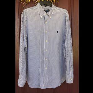 Ralph Lauren CLASSIC FIT Long Sleeve Button Shirt